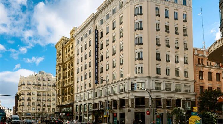 Hotel Madrid Gran Vía 25, managed by Meliá