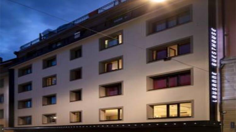 Hotel Lausanne by Fassbind **