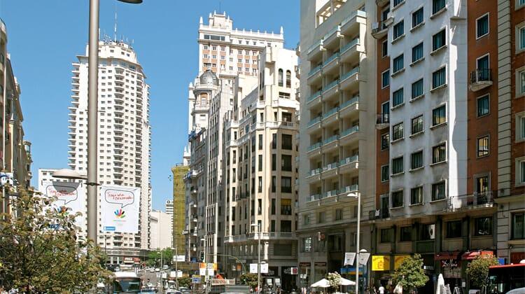 Hotel Madrid Centro, managed by Meliá