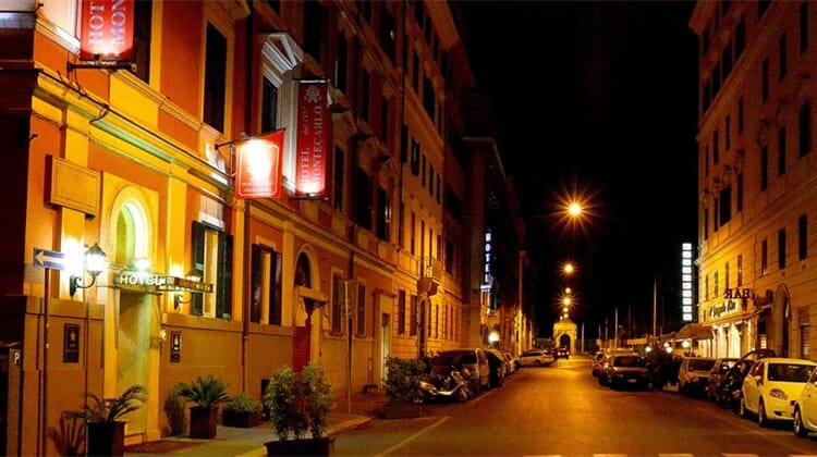 Hotel Montecarlo, Italy, Rome, Rome Termini Station Hotels ...
