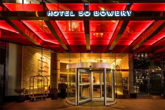 Hotel 50 Bowery NYC / Manhattan