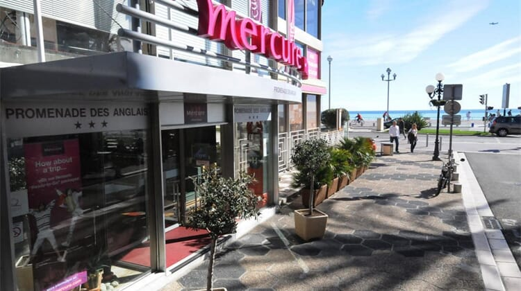 Hôtel Mercure Nice Promenade des Anglais